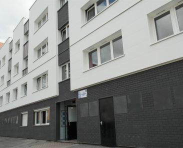 Le bâtiment « H » réhabilité a été dénommé résidence « Maryse BASTIE »