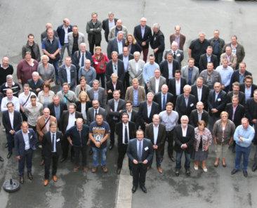 Les participants de ce premier rendez-vous économique en compagnie des membres de la Direction et du Conseil d'Administration de l'OPH