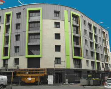 La façade de la résidence « LONDRES » arbore déjà ses nouvelles couleurs !