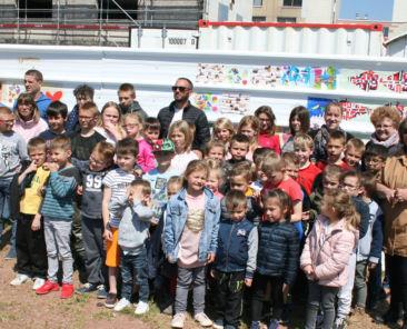 Le 19 juin, les enfants auront à nouveau rendez-vous avec Les Pilotis pour un moment music-hall