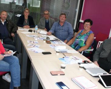 Présentation de la manifestation par les membres du Conseil d'administration de Terre d'Opale Habitat