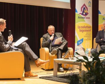 Le bilan insertion de TOH a été évoqué lors de la cérémonie des vœux par le Président Gérard CLAIS