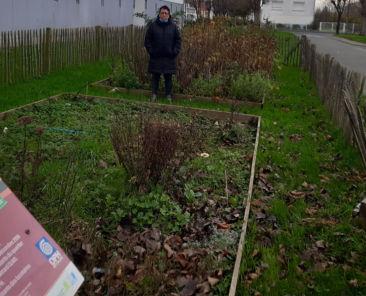 Une locataire passionnée par le jardinage et «amoureuse» aussi de son quartier.