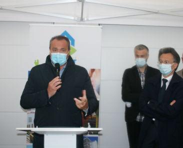 Le Directeur Général de TOH, Hans Ryckeboer, a indiqué que la demande de logements individuels était très importante.